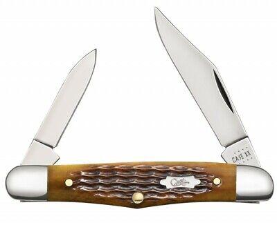 Case xx Half Whittler Knife Jigged Antique Bone Stainless 52838 Pocket Knives