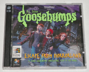 Goosebumps Escape From Horrorland PC Game