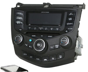 stereo for accord