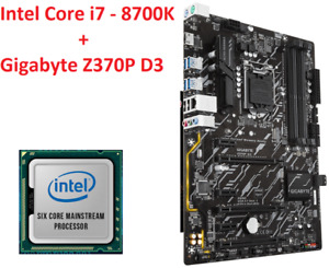 ★★★ Intel Core i7 - 8700K + Gigabyte Z370P D3 Gaming ★★★
