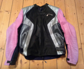 AGVSport Ladies Leather Jacket - 14/16