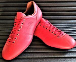 BNIB Red PANTOFOLA D'ORO LAZZARINI FG Soccer shoes