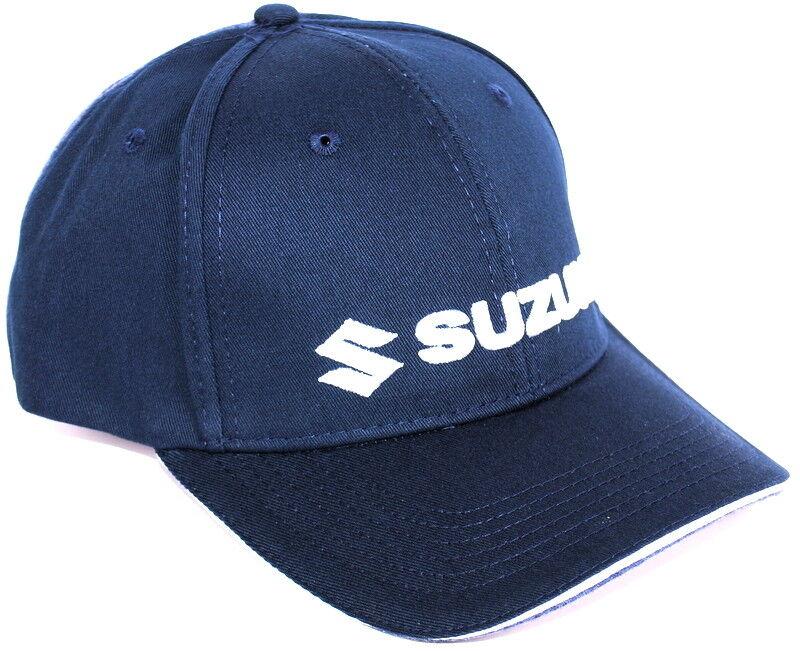 990F0-BLFC3 New Suzuki Genuine Clothing 2018 - Team Baseball Cap Dark Blue