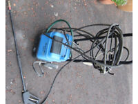 Kew Hobby Pressure 100-1 Pressure Washer For Parts Not running with Original Kew hose & Lance .