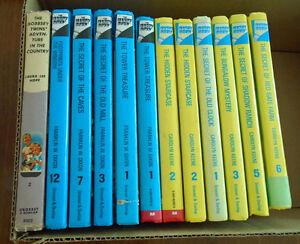 CHILDREN'S BOOKS – HARDY BOYS, NANCY DREW, BOBBSEY TWINS