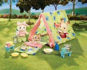 NEW: Calico Critters Let's Go Camping Set
