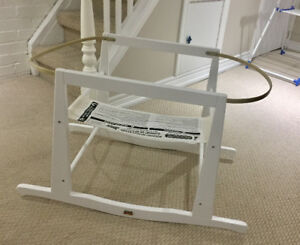 FOR SALE - Jolly Jumper Rocking Basket Stand, White