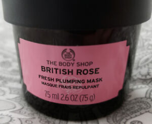 New British Rose plumping Mask from the Body shop