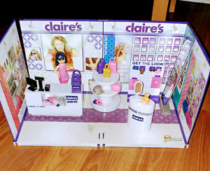 Claire's miniature playset