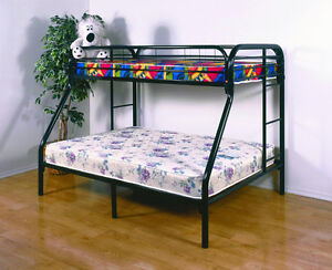 BRAND NEW - TWIN / FULL METAL BUNK BEDS!!!!
