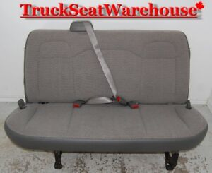 Chev Savanna GMC Express Van Bench Seat Chevy Savana Chevrolet