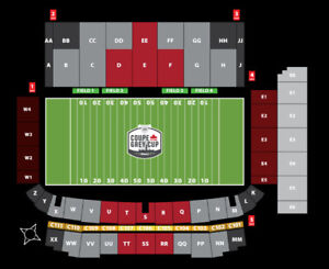 Grey Cup Tickets - 2 available