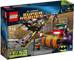 LEGO SUPER HEREOS, 	BATMAN: The Joker Steam Roller #76013