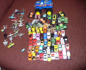 Micromachines 1980s collection of over 100 cars. Many playsets
