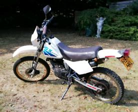 Suzuki 125 Road Legal Dirt Bike