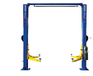 2 POST AUTOMOTIVE HOIST (9,000LB Overhead)