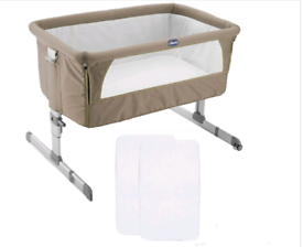 Must go Next to me in dove grey & grey cot