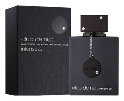 ARMAF CLUB DE NUIT INTENSE 3.6 oz EDT SPRAY FOR MEN IN SEALED BOX*100% ORIGINAL*