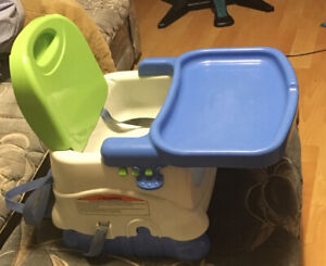 Fisher Price Adjustable Portable High Chair