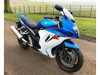 SUZUKI GSX650F - IMMACULATE FACTORY STANDARD LOW MILEAGE EXAMPLE + SERVICED - PX