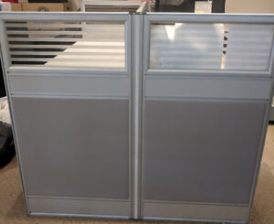 Office Cubicle Workstation - 2 Person - WILL NOT LAST LONG