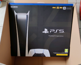 PS5 Digital Edition - Brand New Unopened