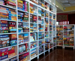 Over 600..yes... over 600.....Board Games to Choose from