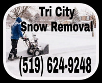 Free quote tri city snow removal.    Snows coming
