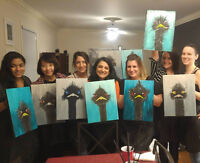 Painting Party anyone? We come to you!