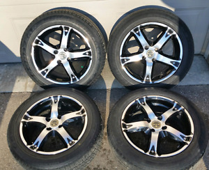 "15""RTX Poison rims with Goodyear tires"