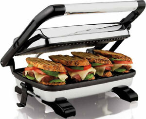 Hamilton Beach 1200 Watt Panini Press Gourmet Sandwich Maker​