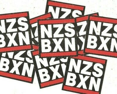 50x NZS BXN Aufkleber stickers Antifa Gegen Nazis AFA Punk GNWP ARA 161 fck nzs