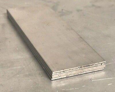 5 Pieces - Titanium Plate 6al4v 2 X 6 X .071