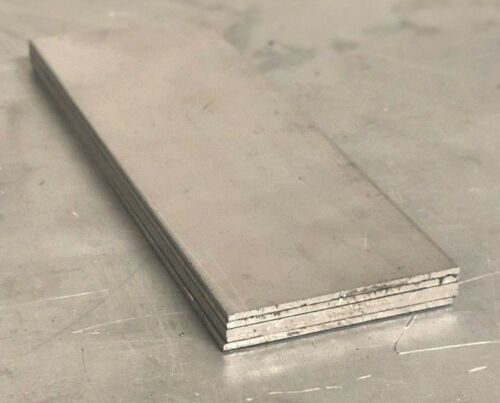 "5 Pieces - Titanium Plate 6AL4V 2"" x 6"" X .125"""