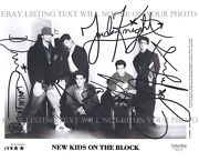 New Kids on The Block Signed