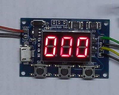 Rechteckgenerator 1Hz bis 150kHz einstellbar, 12V, Digital,  Frequenzgenerator