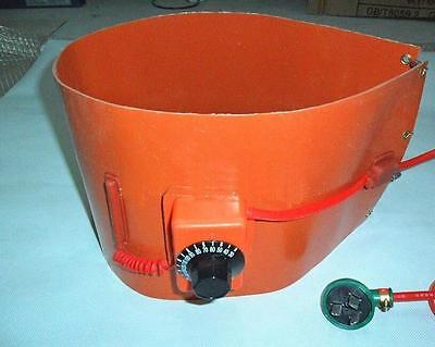 240v 2000w 200l55gallon Silicon Band Metal Oil Biodiesel Bucket Barrel Heater