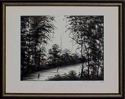 Chinesischer Fotokünstler Thomas Sungu,datiert 1960,Landschaft im Winter 64-599
