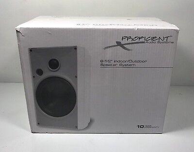 Proficient Aw650blk Indoor Outdoor Speakers  New  Pair