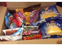 Box Of Out Of Date Sweets And Crisps Walkers Swizzles Nestle