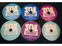 101 TRANCE ANTHEMS (6 CD Discs)