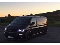 Vw transporter converted to camper t5 t5.1 180Biturbo