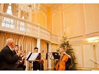 String quartet for weddings or functions - classical, pop, folk music