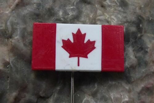 Canadian Red Maple Leaf Canada National Flag Emblem Pin Badge