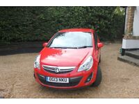 Beautiful 2013 manual Vauxhall Corsa