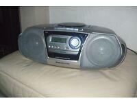 Sanyo CD/Radio/Tape Player
