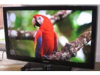 "Samsung 40"" HD LCD TV WITH REMOTE FREEVIEW"