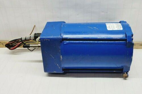 FLOWSERVE .5 HP LIMITORQUE ACTUATOR MOTOR 230-480 VAC 1700 RPM 48YZ FRAME