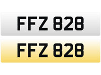 FFZ 828 – Price Includes DVLA Fees – Others Available - Cherished Personal Registration Number Plate