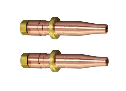 """2 Pack Acetylene Cutting Tips MC12-1 compatible with Smith MC12-1 Tips Cut 5/8"""""""